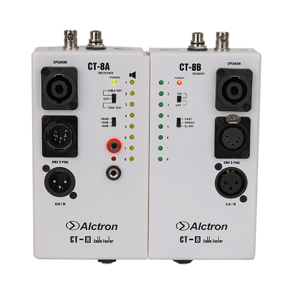 Bộ Kiểm Tra Tín Hiệu Dây Cáp Alctron CT-8