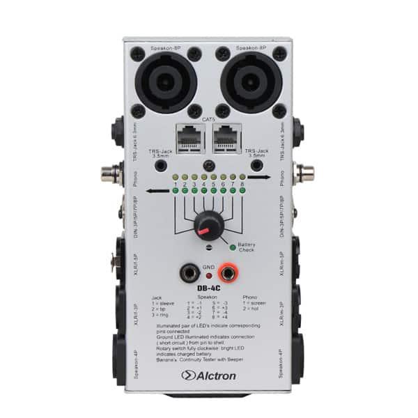 Bộ Kiểm Tra Tín Hiệu Dây Cáp Alctron DB-4C