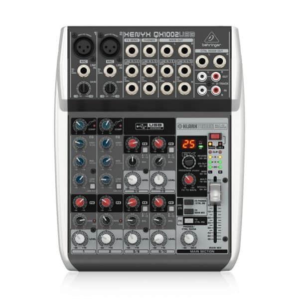 Mixer Behringer XENYX QX1002USB