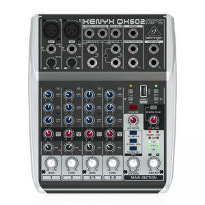 Mixer Behringer XENYX QX602MP3