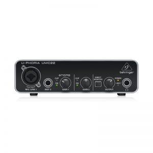 Soundcard Behringer U-Phoria UMC22