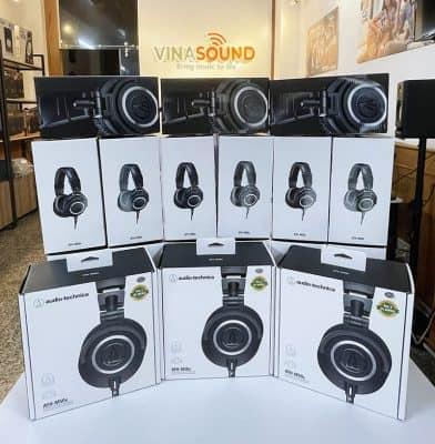 Tai nghe Audio Technica ATH-M50x tại cửa hàng Vinasound- Vinasound.vn