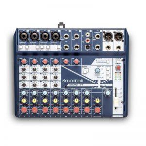 Mixer Soundcraft Notepad-12FX