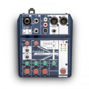 Mixer Soundcraft Notepad-5