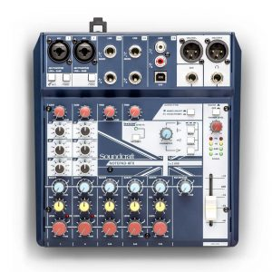 Mixer Soundcraft Notepad-8FX